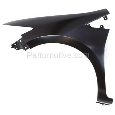 Aftermarket Replacement - FDR-1398L 10-14 Insight Front Fender Quarter Panel Driver Side LH HO1240177 60261TM8A90ZZ - Image 1
