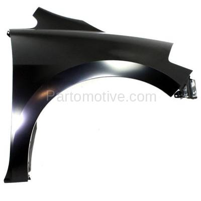 Aftermarket Replacement - FDR-1799R Front Fender Quarter Panel Passenger Side For 07-12 Versa NI1241187 FCA00ZW5MB - Image 1