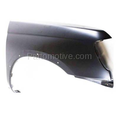 Aftermarket Replacement - FDR-1338R Front Fender Quarter Panel Right Side For 98-00 Frontier Pickup Truck NI1241162 - Image 2
