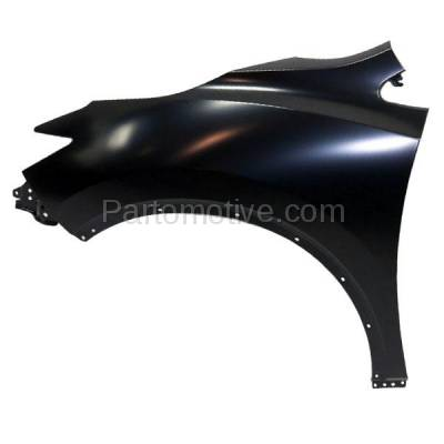 Aftermarket Replacement - FDR-1513L Front Fender Quarter Panel Driver Side LH Fits 15-16 Murano NI1240216 631015AA0A - Image 1
