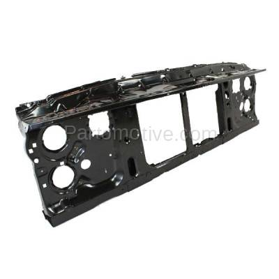 Aftermarket Replacement - RSP-1320 1981-1987 Chevrolet/GMC C/K/R/V-Series & Blazer/Jimmy/Suburban (with Dual Headlight System) Front Radiator Support Assembly Steel - Image 2