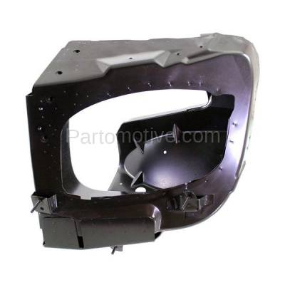 Aftermarket Replacement - RSP-1539L 1998-1999 Mercedes-Benz ML-Class ML320/ML430 Front Radiator Support Side Bracket Brace Panel Primed Made of Steel Left Driver Side - Image 1