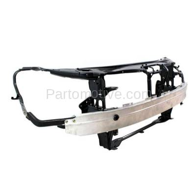Aftermarket Replacement - RSP-1547 2007-2009 Mercedes-Benz S-Class (Base & 4Matic) (221 Chassis) Front Center Radiator Support Core Assembly Primed Steel with Aluminum - Image 2