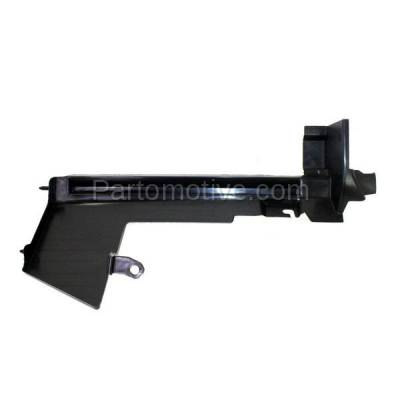 Aftermarket Replacement - RSP-1647L 2007-2012 Nissan Versa (1.6, 1.6 Base, 1.8 S, 1.8 SL, S, SL) Radiator Support Side Air Duct Primed Made of Steel Left Driver Side - Image 1