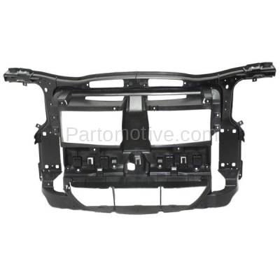 Aftermarket Replacement - RSP-1057 2012-2015 BMW X1 (2.0 & 3.0 Liter Engine) (without M Package) Front Center Radiator Support Core Assembly Primed Made of Plastic & Steel - Image 1