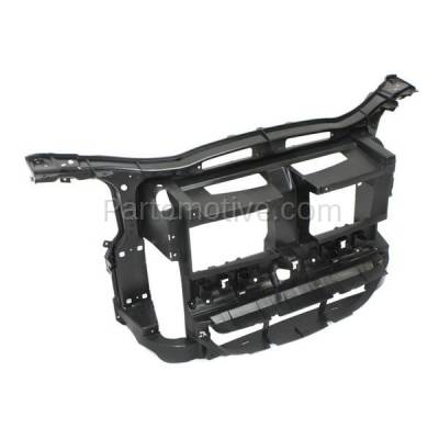Aftermarket Replacement - RSP-1057 2012-2015 BMW X1 (2.0 & 3.0 Liter Engine) (without M Package) Front Center Radiator Support Core Assembly Primed Made of Plastic & Steel - Image 2