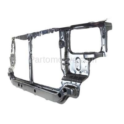 Aftermarket Replacement - RSP-1384 2000-2002 Hyundai Accent (GL, GS, L) (1.5L & 1.6L) (with Manual Transmission) Front Radiator Support Core Assembly Primed Steel - Image 2