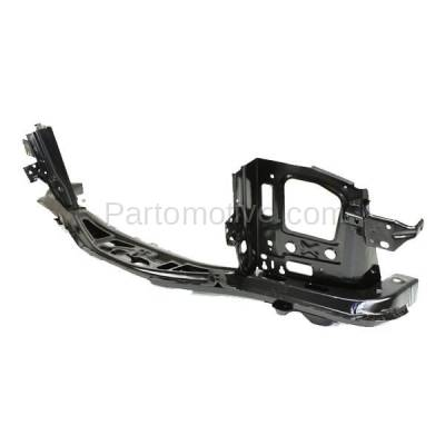 Aftermarket Replacement - RSP-1333 2007-2009 Chevrolet Equinox, Pontiac Torrent & 2002-2007 Saturn Vue Front Center Radiator Support Core Assembly Primed Steel - Image 2
