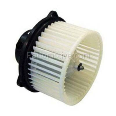 HVAC Blower Motor-AC Condenser Blower Assembly Front TYC fits 98-02 Continental