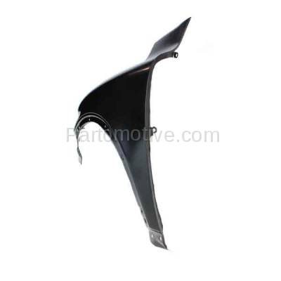 Aftermarket Replacement - FDR-1830L 2003-2014 Volvo CX90 Front Fender Quarter Panel (with Mudguard Provision) without Side Marker Lamp Hole Steel Left Driver Side - Image 3
