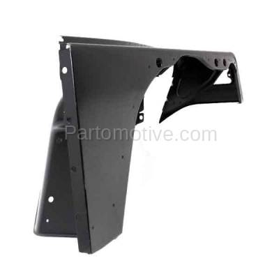 Aftermarket Replacement - FDR-1812R 1997-2006 Jeep Wrangler TJ (2.5 & 4.0 Liter Engine) Front Fender Quarter Panel (with Molding Holes) Steel Right Passenger Side - Image 3
