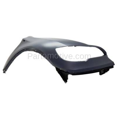 Aftermarket Replacement - FDR-1825R 2008-2014 BMW X6 (excluding M Models) Front Fender Quarter Panel (without Headlight Washer Hole) Primed Right Passenger Side - Image 2