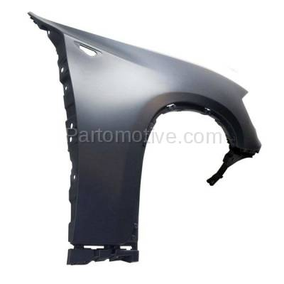 Aftermarket Replacement - FDR-1825R 2008-2014 BMW X6 (excluding M Models) Front Fender Quarter Panel (without Headlight Washer Hole) Primed Right Passenger Side - Image 3