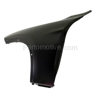 Aftermarket Replacement - FDR-1815L 2013-2015 BMW X1 (2.0 & 3.0 Liter Engine) Front Fender Quarter Panel (without Turn Signal Light Holes) Steel Left Driver Side - Image 3