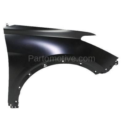 Aftermarket Replacement - FDR-1658R Front Fender Quarter Panel Passenger Side RH Fits 13-16 Santa Fe XL GLS/Limited - Image 1