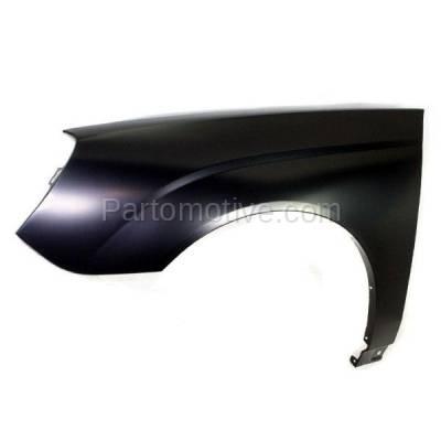Aftermarket Replacement - FDR-1456L 04-08 Chevy Malibu Front Fender Quarter Panel Driver Side LH GM1240306 10398518 - Image 2