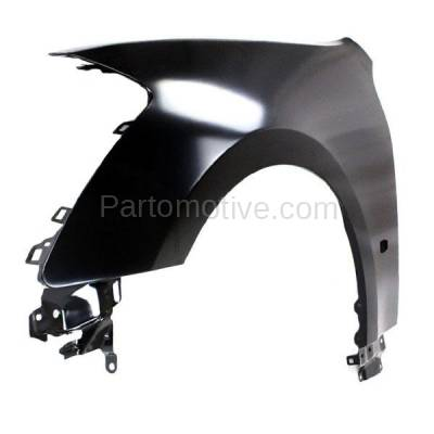Aftermarket Replacement - FDR-1451L Front Fender Quarter Panel Driver Side LH For 06-07 M-35/45 IN1240113 F3101EH1MA - Image 2