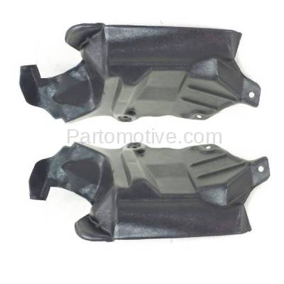 Aftermarket Replacement - ESS-1541L & ESS-1541R Front Engine Splash Shield Under Cover For 95-99 Sentra Left Right Side SET PAIR - Image 2