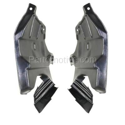 Aftermarket Replacement - ESS-1541L & ESS-1541R Front Engine Splash Shield Under Cover For 95-99 Sentra Left Right Side SET PAIR - Image 3