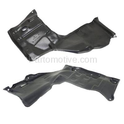 Aftermarket Replacement - ESS-1583L & ESS-1583R 88-92 Corolla Engine Splash Shield Under Cover w/Auto Trans. Left Right SET PAIR - Image 3