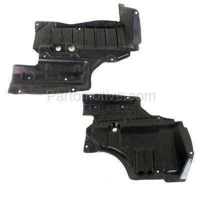 Aftermarket Replacement - ESS-1540L & ESS-1540R Front Engine Splash Shield Under Cover For 93-97 Altima Left Right Side SET PAIR - Image 1