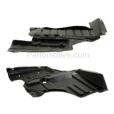 Aftermarket Replacement - ESS-1540L & ESS-1540R Front Engine Splash Shield Under Cover For 93-97 Altima Left Right Side SET PAIR - Image 3