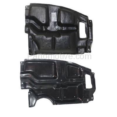 Aftermarket Replacement - ESS-1553L & ESS-1553R 05-10 tC Front Engine Splash Shield Under Cover Guard Left & Right Side SET PAIR - Image 1