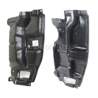 Aftermarket Replacement - ESS-1553L & ESS-1553R 05-10 tC Front Engine Splash Shield Under Cover Guard Left & Right Side SET PAIR - Image 2