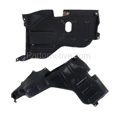 Aftermarket Replacement - ESS-1567L & ESS-1567R 95-02 Esteem Front Engine Splash Shield Under Cover Guard Left & Right SET PAIR - Image 1