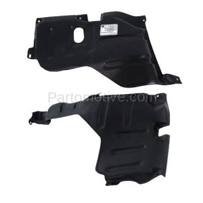 Aftermarket Replacement - ESS-1567L & ESS-1567R 95-02 Esteem Front Engine Splash Shield Under Cover Guard Left & Right SET PAIR - Image 3