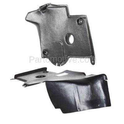 Aftermarket Replacement - ESS-1471L & ESS-1471R 92-99 S-Class Rear Engine Splash Shield Under Cover Guard Left & Right SET PAIR - Image 2