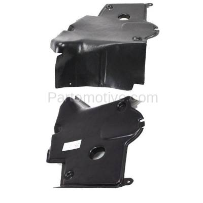 Aftermarket Replacement - ESS-1471L & ESS-1471R 92-99 S-Class Rear Engine Splash Shield Under Cover Guard Left & Right SET PAIR - Image 3