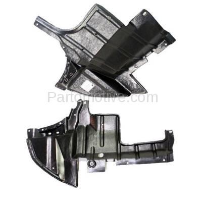 Aftermarket Replacement - ESS-1497L & ESS-1497R 03-06 Outlander Engine Splash Shield Under Cover Undercar Left & Right SET PAIR - Image 2