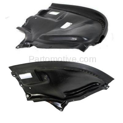 Aftermarket Replacement - ESS-1457L & ESS-1457R 00-06 S-Class Front Engine Splash Shield Under Cover Guard Left & Right SET PAIR - Image 2