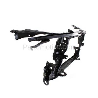 Aftermarket Replacement - RSP-1745 2009-2013 Toyota Corolla (Base, CE, LE, S, XLE, XRS) with Hood Latch (Made In North America) Front Radiator Support Core Assembly Steel - Image 2
