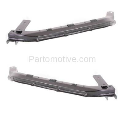 Aftermarket Replacement - BRT-1062FL & BRT-1062FR 03-05 Pilot 3.5L Front Bumper Cover Face Bar Retainer Mounting Brace Support Bracket SET PAIR Right Passenger & Left Driver Side - Image 2