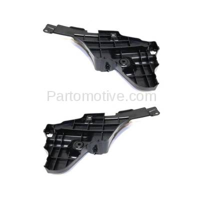 Aftermarket Replacement - BRT-1073RL & BRT-1073RR 2016-2018 Lexus RX350 & RX450H Rear Bumper Cover Lower Retainer Mounting Brace Reinforcement Support Bracket Plastic Right & Left Side - Image 2
