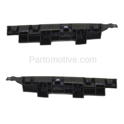 Aftermarket Replacement - BRT-1051FL & BRT-1051FR 06-07 Accord Front Bumper Cover Face Bar Spacer Retainer Mounting Brace Reinforcement Support Plastic SET PAIR Right Passenger & Left Driver Side - Image 2
