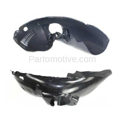 Aftermarket Replacement - IFD-1173L & IFD-1173R 99-02 300M, Concorde Front Splash Shield Inner Fender Liner Left Right SET PAIR - Image 3