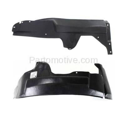 Aftermarket Replacement - IFD-1172L & IFD-1172R 95-00 Cirrus/Stratus Front Splash Shield Inner Fender Liner Left Right SET PAIR - Image 2