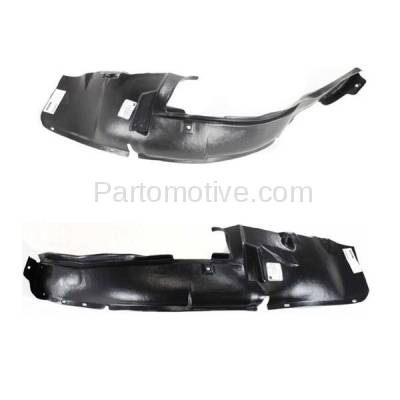 Aftermarket Replacement - IFD-1171L & IFD-1171R 00-05 Neon Front Splash Shield Inner Fender Liner Panel Left Right Side SET PAIR - Image 2