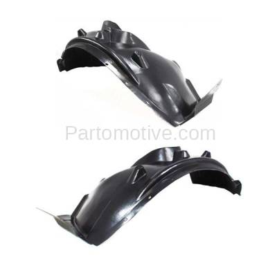 Aftermarket Replacement - IFD-1112L & IFD-1112R 04-06 X3 Front Splash Shield Inner Fender Liner Panel Left & Right Side SET PAIR - Image 3