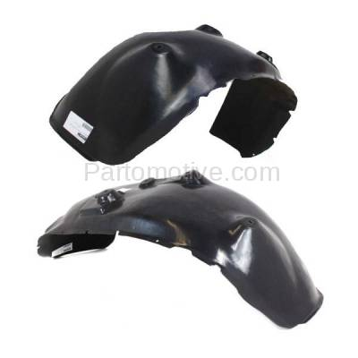 Aftermarket Replacement - IFD-1162L & IFD-1162R 03-04 Ram 3500 Pickup Front Splash Shield Inner Fender Liner Left Right SET PAIR - Image 2