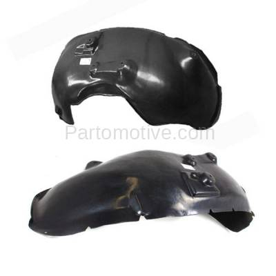 Aftermarket Replacement - IFD-1162L & IFD-1162R 03-04 Ram 3500 Pickup Front Splash Shield Inner Fender Liner Left Right SET PAIR - Image 3