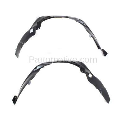 Aftermarket Replacement - IFD-1183L & IFD-1183R 07-10 Compass Front Splash Shield Inner Fender Liner Panel Left & Right SET PAIR - Image 2