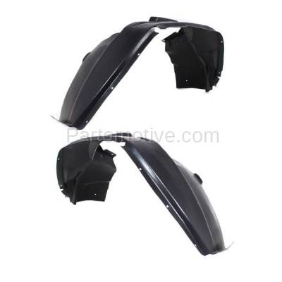 Aftermarket Replacement - IFD-1183L & IFD-1183R 07-10 Compass Front Splash Shield Inner Fender Liner Panel Left & Right SET PAIR - Image 3