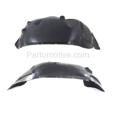 Aftermarket Replacement - IFD-1163L & IFD-1163R 05-11 Dakota & Raider Front Splash Shield Inner Fender Liner Left Right SET PAIR - Image 2