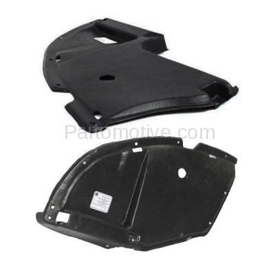 Aftermarket Replacement - ESS-1504L & ESS-1504R 04-12 Galant Front Engine Splash Shield Under Cover Left & Right Side PAIR SET - Image 2