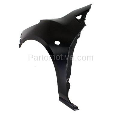 Aftermarket Replacement - FDR-1470L 11-13 Mazda2 Front Fender Quarter Panel Left Driver Side LH MA1240166 D65152211B - Image 3