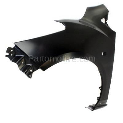 Aftermarket Replacement - FDR-1471L 11-14 Mazda2 Front Fender Quarter Panel Left Driver Side LH MA1240165 D65152211C - Image 2